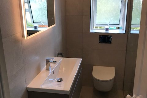 Bathroom Redesign Featuring Wetroom Clonskeagh Dublin Cleary Bathroom Design