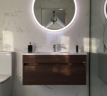 Vitra walnut unit hib mirror