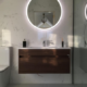 Vitra walnut unit hib mirror
